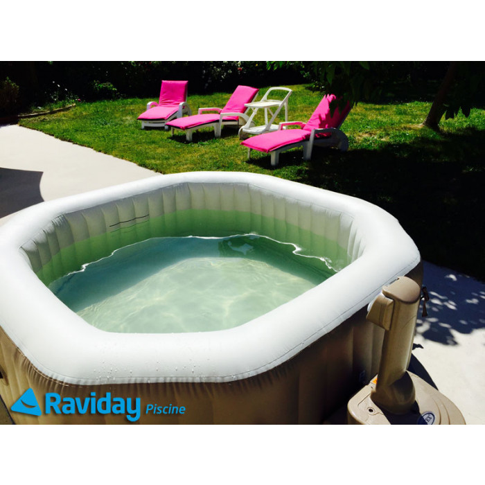 Spa en dur pas cher simple spa pas cher spa chicago - Spa gonflable intex pas cher ...