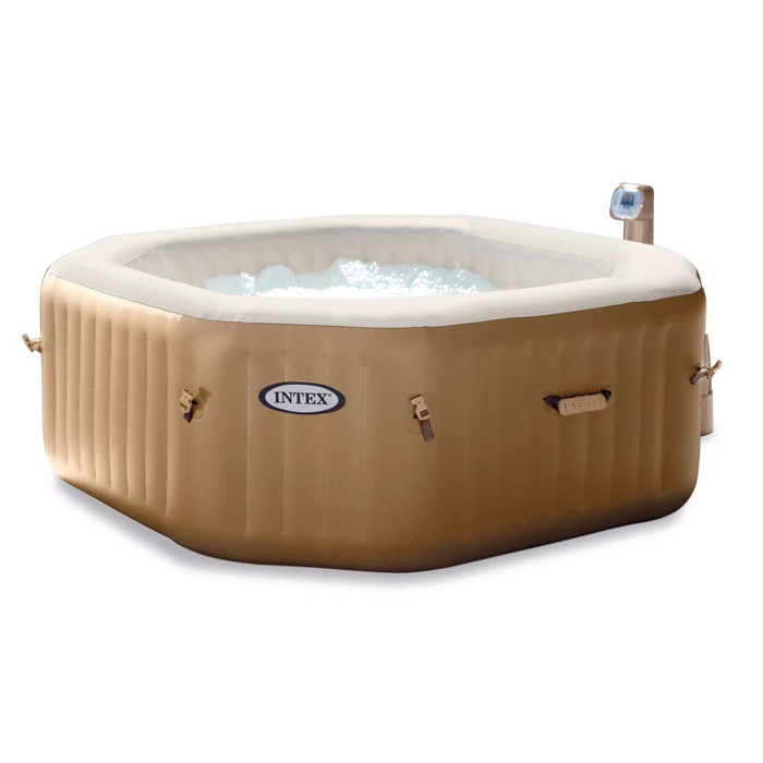 jacuzzi 4 places pas cher spa gonflable intex purespa bulles octogonal with jacuzzi 4 places. Black Bedroom Furniture Sets. Home Design Ideas
