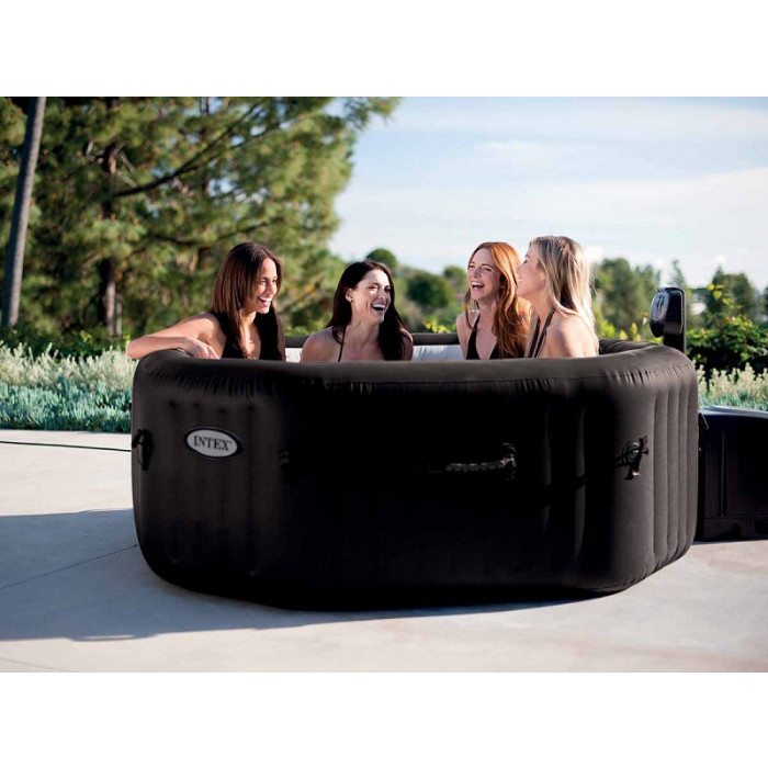 spa gonflable intex pure spa jets 6 places. Black Bedroom Furniture Sets. Home Design Ideas