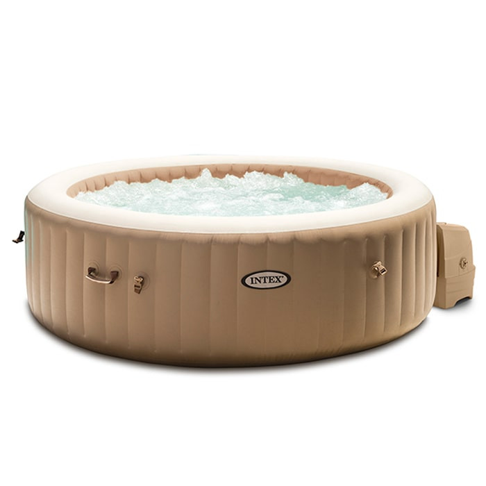 Spa Gonflable Intex Pure Spa Bulles 4 Places Sahara A 399