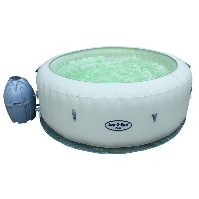 Spa gonflable bestway paris airjet 4 6 places achat sur for Spa avec piscine paris