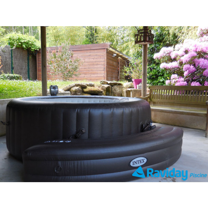 spa gonflable intex purespa jets achat vente sur raviday piscine. Black Bedroom Furniture Sets. Home Design Ideas