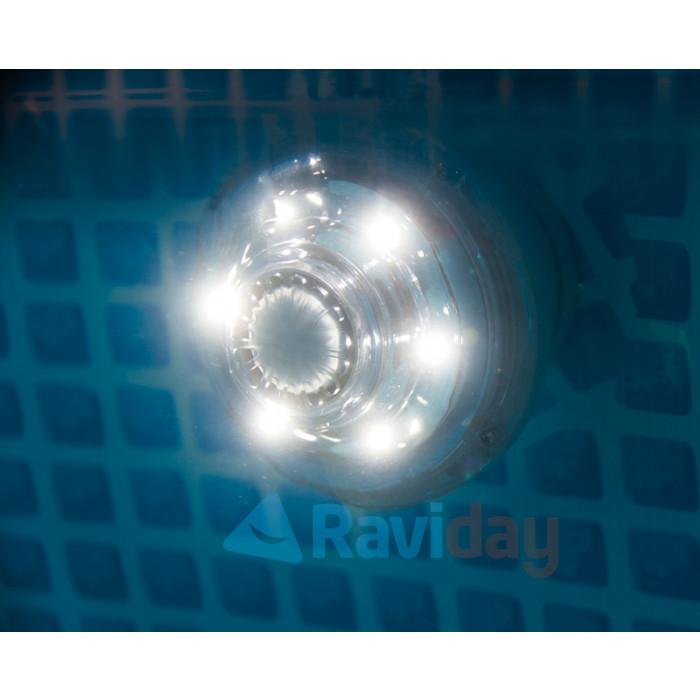 Spot lumineux pure spa jets intex lumi re de spa gonflable intex - Lumiere d ambiance salon ...