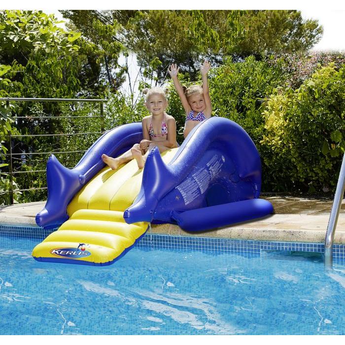 Toboggan gonflable kerlis - Toboggan piscine gonflable ...