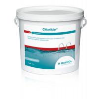 Chlore à dissolution rapide Bayrol Chloriklar 5 kg pour piscines hors-sol jusqu'à 30 m³