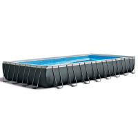 Piscine tubulaire rectangulaire Intex Ultra XTR 9.75 x 4.88 x 1.32m