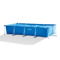 Piscine tubulaire Intex Metal Frame 4.50 x 2.20 x 0.84 m + Epurateur 1,7 m3