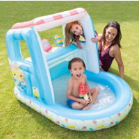 Piscinette gonflable Marchand de glace Intex