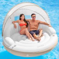 Matelas gonflable de piscine Intex Lounge Caraïbes