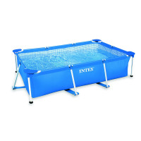 Piscine tubulaire Intex Metal Frame Junior 2.60 x 1.60 x 0.65
