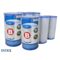 6 cartouches de filtration type B Intex