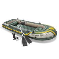 Set bateau 4 places Seahawk 4 (rames et gonfleur inclus)