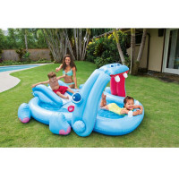 Aire de jeu gonflable Hippo Intex