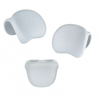 Pack 2 Appuie-têtes + 1 porte-gobelets pour spa Netspa