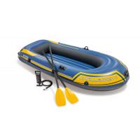 Bateau gonflable Intex Challenger 2 places avec rames et gonfleur