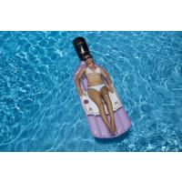 Bouteille de rosé gonflable pour piscine Swimline