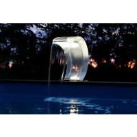 Cascade pour piscine Ubbink Mamba Acryl-LED