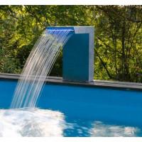 Cascade pour piscine Ubbink Straight LED