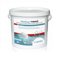 Galets de chlore à dissolution lente 5 kg Bayrol Chlorilong POWER 5
