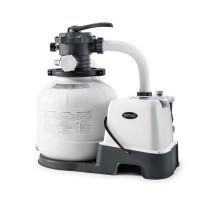 Combiné filtre à sable 6 m³/h et Stérilisateur Intex + OEC