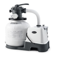 Combiné filtre à sable 8 m³/h et Stérilisateur Intex + OEC 2020