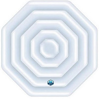 Couvercle gonflable octogonal pour spa Netspa Silver et Python
