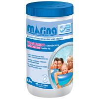 Traitement sans chlore Marina pour petites piscines 1,2kg - Pastilles de 20gr