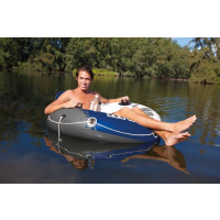 Fauteuil gonflable de piscine INTEX  géant River Run