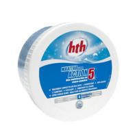 HTH Maxitab Action 5 - Chlore stabilisé 1 bloc de 500g