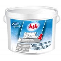 HTH Brome Multi-Action 4 en 1 - Seau de 5 kg