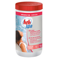HTH Spa Flash Désinfection 1kg