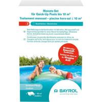 Traitement mensuel chlore et oxygène actif Bayrol pour piscines < 10 m³