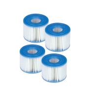 Lot de 4 filtres pour Spa Intex S1