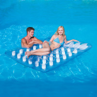 Matelas gonflable de piscine 2 places Bestway