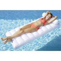 Matelas gonflable piscine classique recto-verso Kerlis
