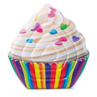 Matelas gonflable de piscine Intex Cupcake 142 x 135 cm