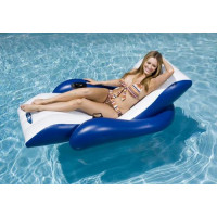 Chaise longue gonflable piscine INTEX Deluxe