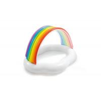 Pataugeoire gonflable Intex Nuage + Arc-en-ciel