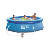 Piscine autoportante Easy Set Intex 3,05 x 0,76 m + épurateur 1 m³/h