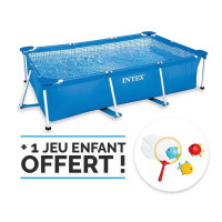Piscine tubulaire Intex Metal Frame 2.20 x 1.50 x 0.60 m