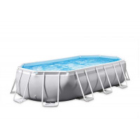 Piscine tubulaire ovale Intex Prism Frame 5.03 x 2.74 x 1.22m
