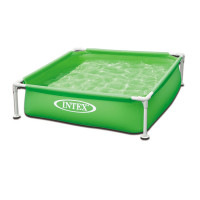 Piscinette Intex MetalFrame Junior Verte