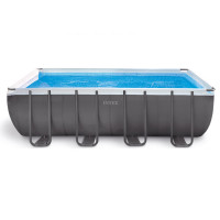 Piscine tubulaire Intex Ultra Silver 5.49 x 2.74 x 1.32 m