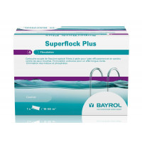 Floculant spécial filtres à sable Superflock Plus Bayrol