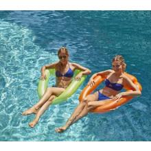 Lot de 2 fauteuils gonflables fluos Pool Pod Kerlis pour piscine