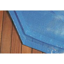 Couverture à bulles pour piscine en bois Procopi - BWT myPOOL Pool'n Box et Weva