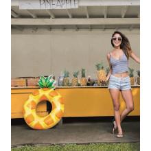 "Bouée gonflable Intex ""Ananas"" 117 x 86 cm - 9 ans +"