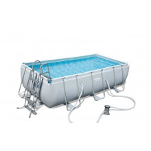 Piscine tubulaire rectangulaire Bestway Power Steel 4,04 x 2,01 x 1,00