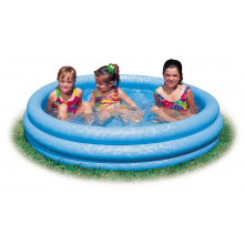 Piscine gonflable INTEX bleu cristal