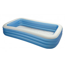 Piscine gonflable rectangulaire INTEX Family